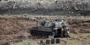 İşgalci İsrail'den Gazze'ye Tank Ateşi