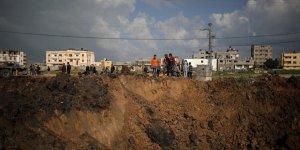 İşgalci İsrail Gazze'deki Tarım Arazilerini Hedef Aldı!