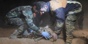 Rakka'da 1236 Ceset Çıkarıldı