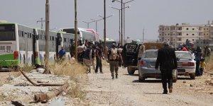 Suriye'nin Güneyinden Tahliye Edilenlerin Sayısı 2 Bin 400'e Ulaştı