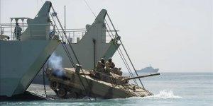 Kızıldeniz'de Mısır-ABD-Suudi Arabistan-BAE Ortak Deniz Tatbikatı