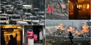 Yunanistan'daki Yangın Faciasında Bilanço Ağırlaşıyor