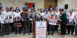 İşgalci İsrail'in Basın İhlalleri Gazze'de Protesto Edildi