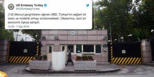ABD Geriyor, Ankara Büyükelçisi ise Gerilimi Düşürmeye Çalışıyor