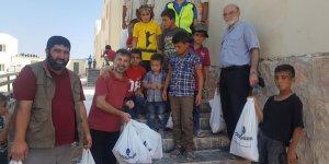 Özgür-Der'in Kurbanları Suriye'de İhtiyaç Sahiplerine Ulaştı