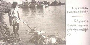 Myanmar Ordusunun Bastırdığı Propaganda Kitabında Fotoğraf Skandalı!