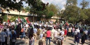 İdlib'e Yönelik İşgal Girişimi Bursa'da Protesto Edildi