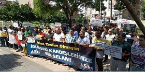 İdlib'e Yönelik İşgal Girişimi Adana'da Protesto Edildi