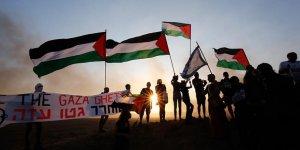 Yahudi Aktivistlerden Gazze'ye Destek Gösterisi