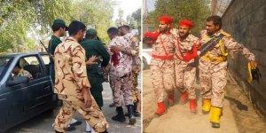 İran'da Rejim Güçlerine Saldırı
