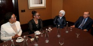 Cumhurbaşkanı Erdoğan, Malcolm X'in Kızlarıyla Görüştü