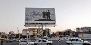 İran'da İsrail Askerleri Afişi Tartışmalara Neden Oldu