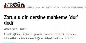 Madem Zorunlu Din Dersi Olmaz, Öyleyse Eğitimde Atatürkçülük Dayatması da Kalkmalı!