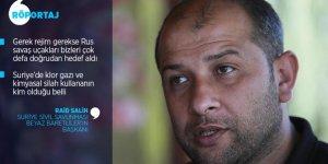 """Beyaz Baretliler'in Başkanı Salih: """"Suriye'de İşlenen Bütün Katliamların İlk Şahidi Biziz"""""""