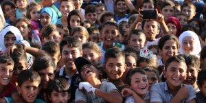 """Suriyeli Çocuklar """"Sınırsız Şenlik""""te Buluştular"""