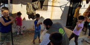Özgür-Der'den Suriye'deki Yetimhanelerde Bulunan Çocuklara Yardım Eli