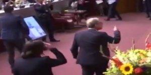 Kuveytli Bakanın Konuşması Siyonistleri Kızdırdı!