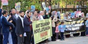 Ankara'daki Danıştay Protestosuna Polis Müdahalesi