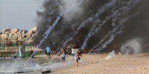 İşgal Güçleri Gazze Sahilinde 20 Filistinliyi Yaraladı