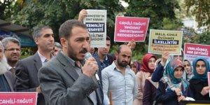"Danıştay'ın ""Ant"" Kararı Bingöl'de Protesto Edildi"