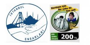 İstanbul Ensarları: Soğuk Kış Kapıda! Kardeşin İçin Bir Soba da Sen Yak!
