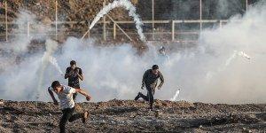 İşgal Güçleri Gazze'de 1 Filistinliyi Şehit Etti