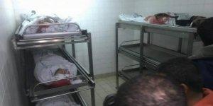 Siyonist İsrail Gazze'ye Saldırdı 7 Filistinli Hayatını Kaybetti
