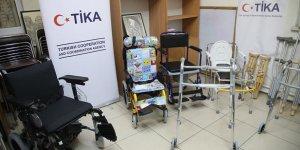 TİKA'dan Filistinli Fiziksel Engellilere Ekipman Desteği