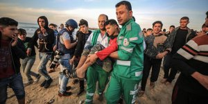 İşgal Güçleri Gazze Sahilinde 3 Filistinliyi Yaraladı