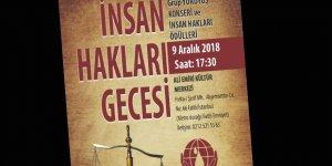 Mazlum-Der'den 'İnsan Hakları Gecesi'