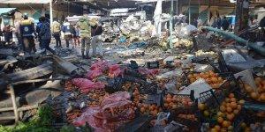 PKK Afrin'de Pazar Yerine Bomba Yüklü Araçla Saldırdı
