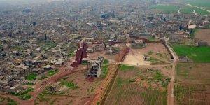 YPG/PKK'nın Kobani'de Kazdığı Çukur ve Tüneller