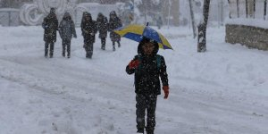 12 İlde Eğitime Kar Engeli