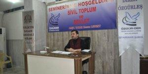 """""""Sivil Toplum ve Devlet"""" Semineri Gerçekleştirildi"""