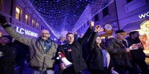 Bosna'da Binlerce Kişi David Dragiceviç'in Ölümünü Protesto Etti