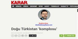 Doğu Türkistan 'Komplosu' mu?