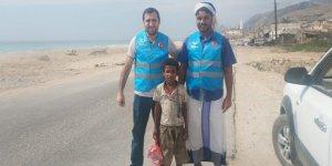 İyilikte Yarışanlar Derneği Yemen'e Ulaştı