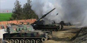 TSK, Tel Rıfat'taki YPG/PKK'lıları Vurdu
