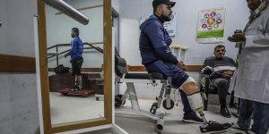 Gazze'deki Protez Merkezi Filistinlilere Umut Oldu