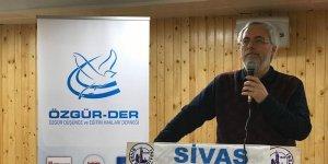 """Sivas Özgür-Der'de """"Kur'an ve Sünnet'i Anlamada Ölçü"""" Konuşuldu"""