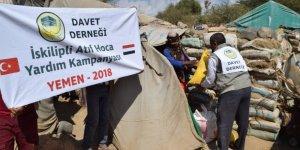 Davet Derneği'nden Yemen'e Yardım