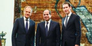 AB Mısır Diktatörünü Kucakladı
