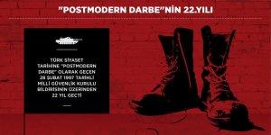 28 Şubat Postmodern Darbesi 22. Yılını Geride Bırakıyor
