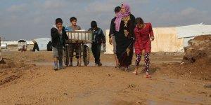 Irak'ta Evlerine Dönemeyen Yarım Milyon İç Göçmen var