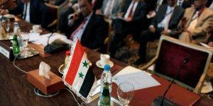 Katil Esed Rejimi Arap Birliği Toplantısına Katıldı
