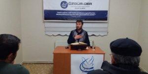 Sivas Özgür-Der'de Şehadet Konuşuldu