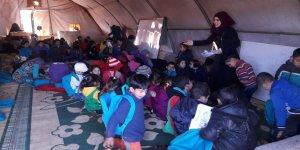 Van Özgür-Der'den İdlib'de Çocuklar İçin İnşa Edilecek Okula Destek