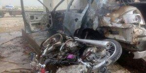 Cerablus'ta Bomba Yüklü Motosiklet Patladı