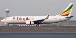 Etiyopya Hava Yolları'na Ait Yolcu Uçağı Düştü