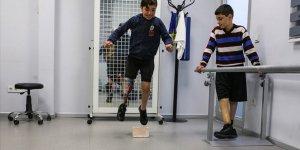 Suriye'nin Yaralı Çocukları Protez Bacaklarıyla Umuda Koşuyor